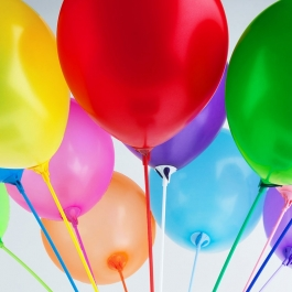 Воздушные шары (на палочке)