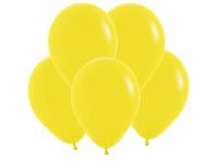 """Шар гелиевый жёлтый (пастель) 30 см (12"""")"""