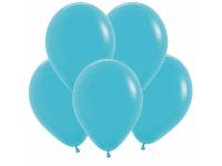 """Шар гелиевый карибы, синяя бирюза (пастель) 30 см (12"""")"""