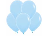 """Шар гелиевый голубой (пастель) 30 см (12"""")"""