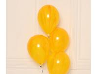 """Шар гелиевый """"Агат, жёлтый"""", 12""""(30 см)"""