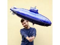 """Шар фольгированный """"Подводная лодка"""" 84 см. С гелием"""