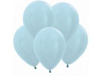 """Шар гелиевый Голубой (Металлик) 30 см (12"""")"""