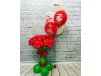 """Букет роз и фонтан """"Для мамы"""""""