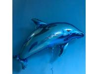 """Шар фольгированный """"Дельфин"""" 94 см. С гелием"""
