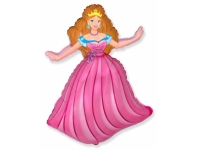 Шар Фольгированный Принцесса Аврора 98 см. С гелием