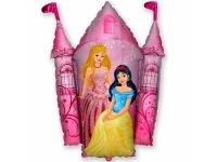 Шар Фольгированный Замок принцессы 86 см. С гелием
