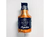 """Шар фольгированный """"Бутылка виски"""" 81 см. С гелием"""