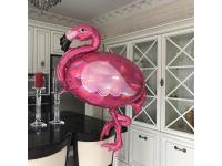 """Шар фольгированный """"Фламинго, перламутр"""" 83 см. С гелием"""