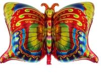 Шар Фольгированный Бабочка 79 см. С гелием