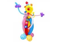 "Фигура из шаров ""Яркий клоун"""
