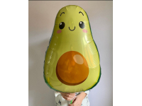 Шар фольгированный Авокадо 73 см. С гелием