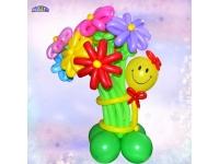 Букет Смайл с цветами