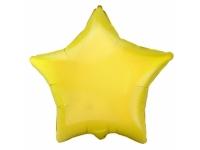 Шар фольгированный звезда жёлтая. 48 см. С гелием