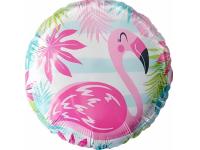 """Шар фольгированный """"Фламинго"""" 48 см. С гелием"""