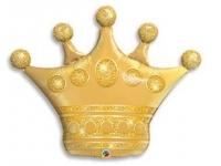 """Шар фольгированный """"Корона"""" 105 см. С гелием"""