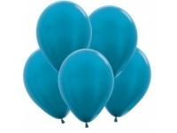 """Шар гелиевый карибы/синяя бирюза (металлик) 30 см (12"""")"""