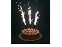 Свечи-фонтаны в торт, 12.5 см