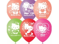 "Шар гелиевый ""Hello kitty"", 30 см(12"")."