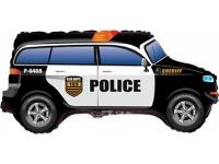 """Шар фольгированный """"Полицейская машина"""" 84 см. С гелием"""