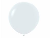 """Шар гигант метровый гелиевый белый. 100 см (36"""")"""