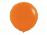 """Шар гигант метровый гелиевый оранжевый 100 см (36"""")"""