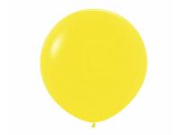 "Шар гигант метровый гелиевый жёлтый 90 см (36"")"