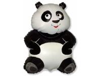Шар Фольгированный Большая панда 84 см. С гелием