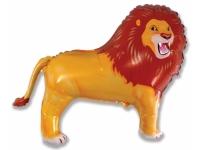 Шар Фольгированный Лев 84 см. С гелием