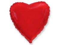 Шар фольгированный сердце красное. 78 см. С гелием