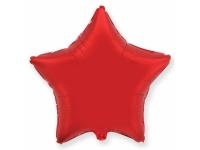 Шар Фольгированный Звезда Красный 48 см. С гелием