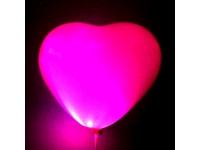 Светящийся шар-сердечко