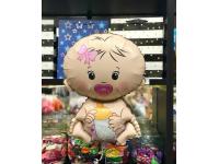 Шар Фольгированный Малышка девочка 66 см. С гелием